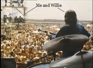 Me and Willie arrow